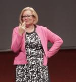 Ellen Hermens im Vortrag