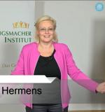 Ellen Hermens im Webinar
